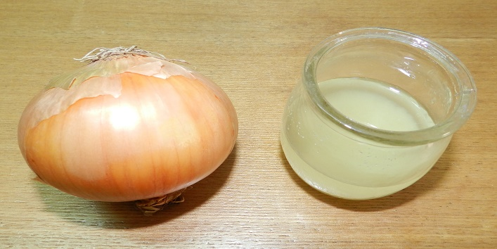 Onion juise for black spot
