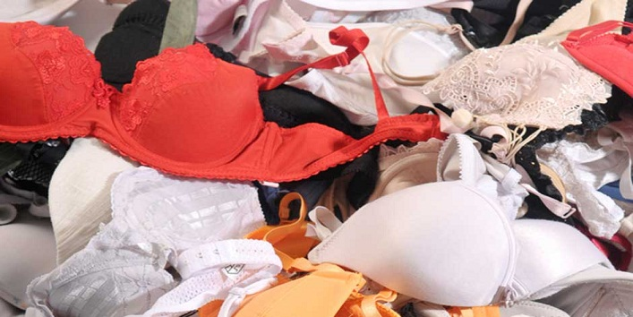 Sticking on to old bras-
