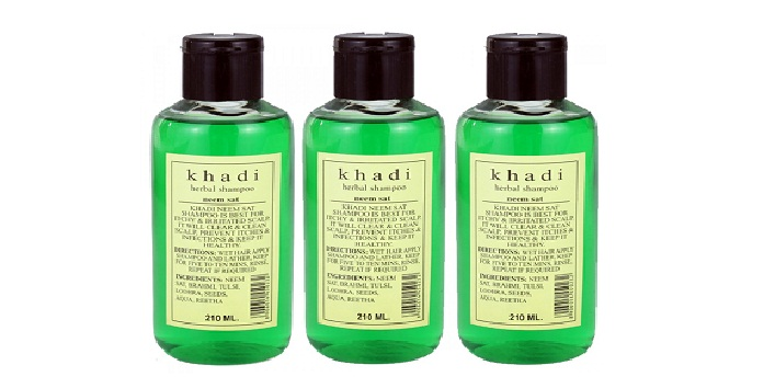 Khadi Herbal Neem Sat Shampoo