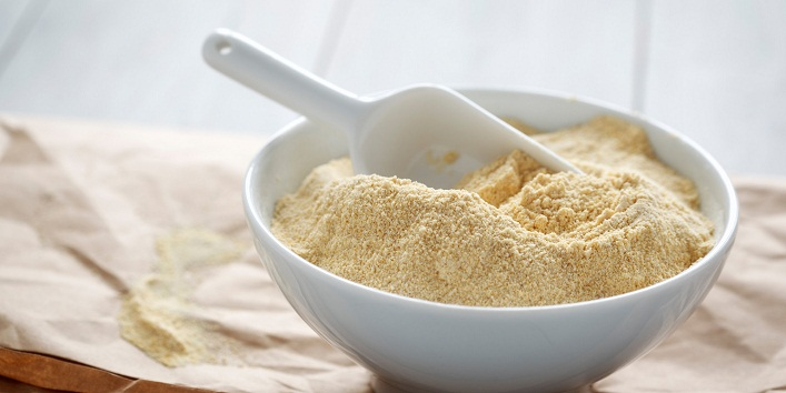 Coconut Water and Gram flour