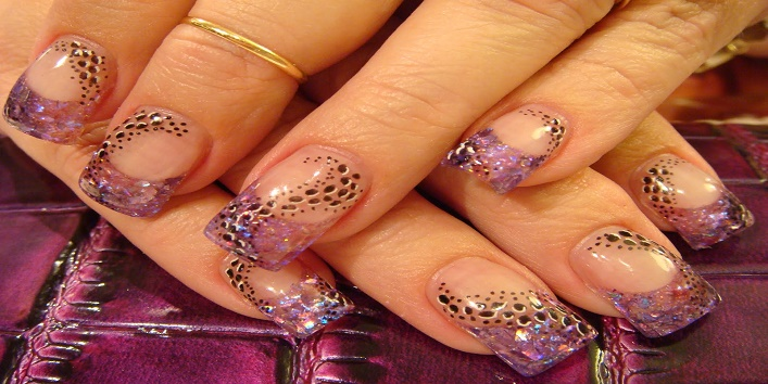 3 D nail art to make your nails more beautiful4