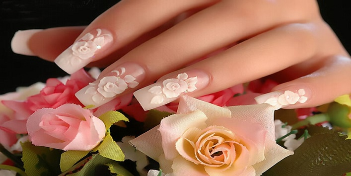 3 D nail art to make your nails more beautiful2