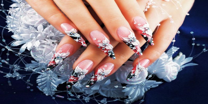 3 D nail art to make your nails more beautiful1