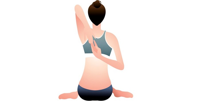 try this yoga asana for increasing breast size4