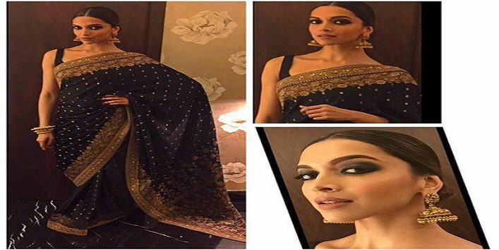 Smokey eyes makeup tricks of Deepika Padukone3