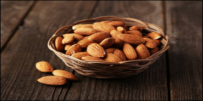 protein-rich-food-items-to-lose-weight-almond
