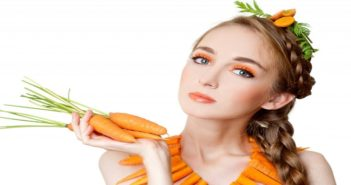 How to get flawless and beautiful face with carrot cover