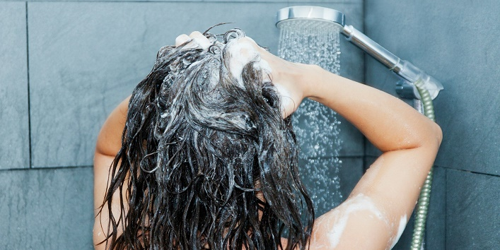 Shampoo your hair at least thrice a week