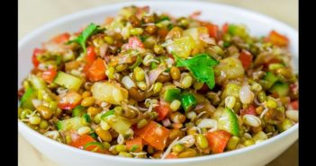 Achari Moth Chaat recipe