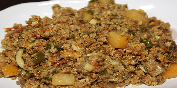 Chicken keema recipe