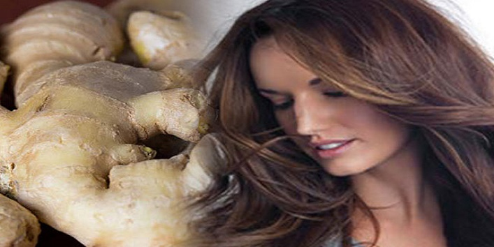 How to get longer and beautiful hair using ginger cover