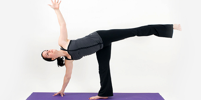 Ardha Chakrasana Or The Half Moon Pose 1