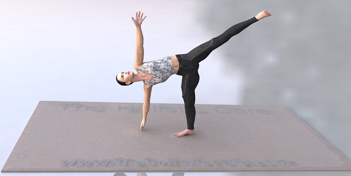 Ardha Chakrasana Or The Half Moon Pose