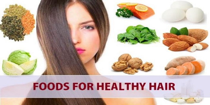 Hair fall 6 Best Food Items To Control Hair Fall