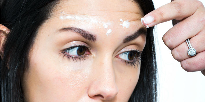 Use moisturizer with hyaluronic acid