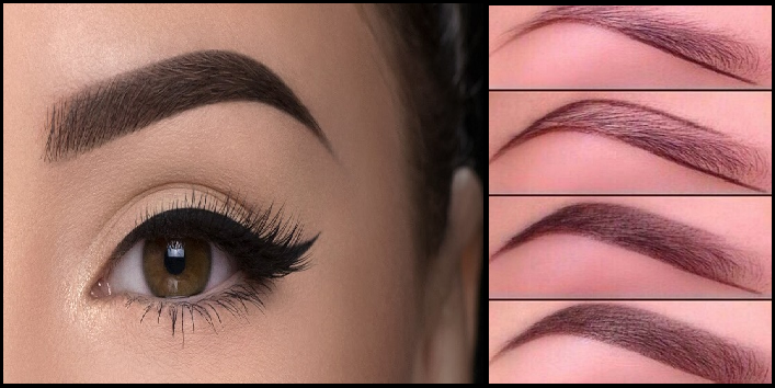 how to get beautiful shaped eyebrows
