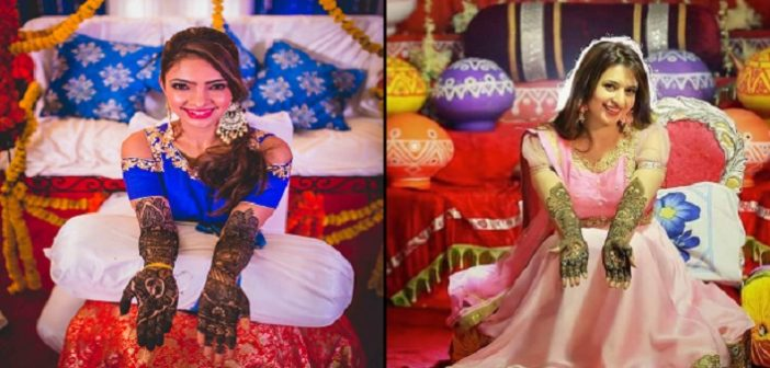 celebrity bride Celebrity Bride Mehendi That Will Make You Say WOW! cover