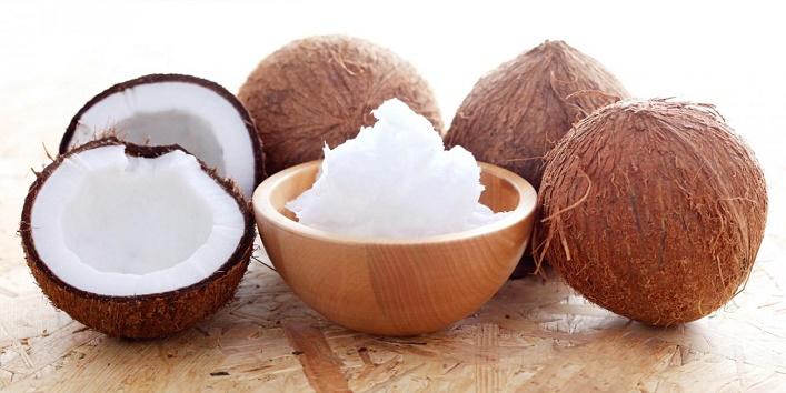 Use raw coconut of cream
