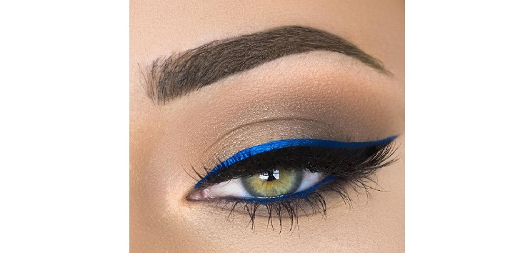 Blue winged liner