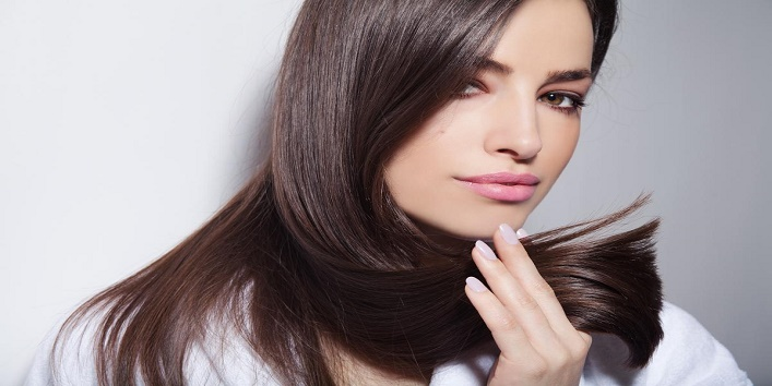 For soft and silky hair