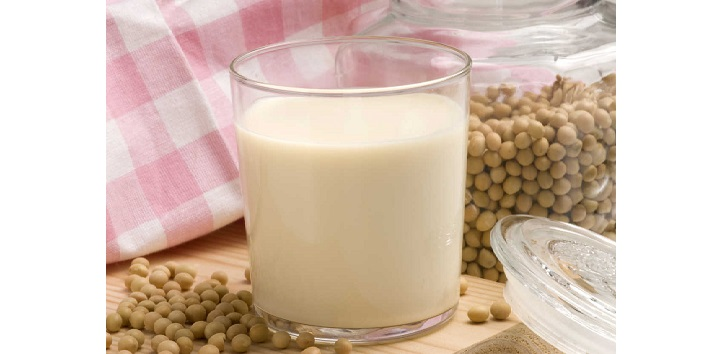 Soya Milk is rich in Protein and Calcium