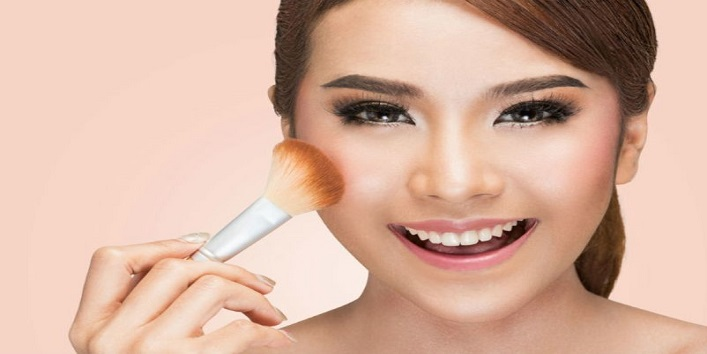 Use liquid foundation or concealer